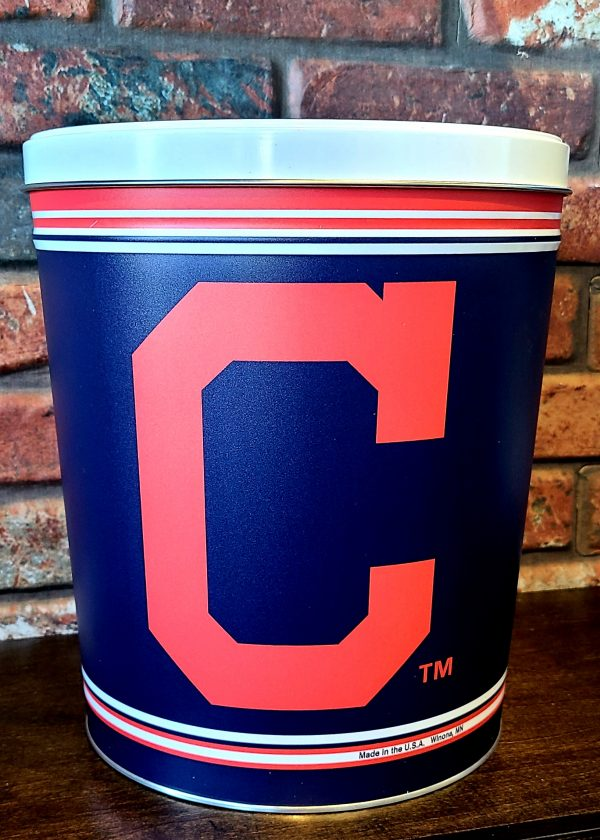 Clev Indians Tin